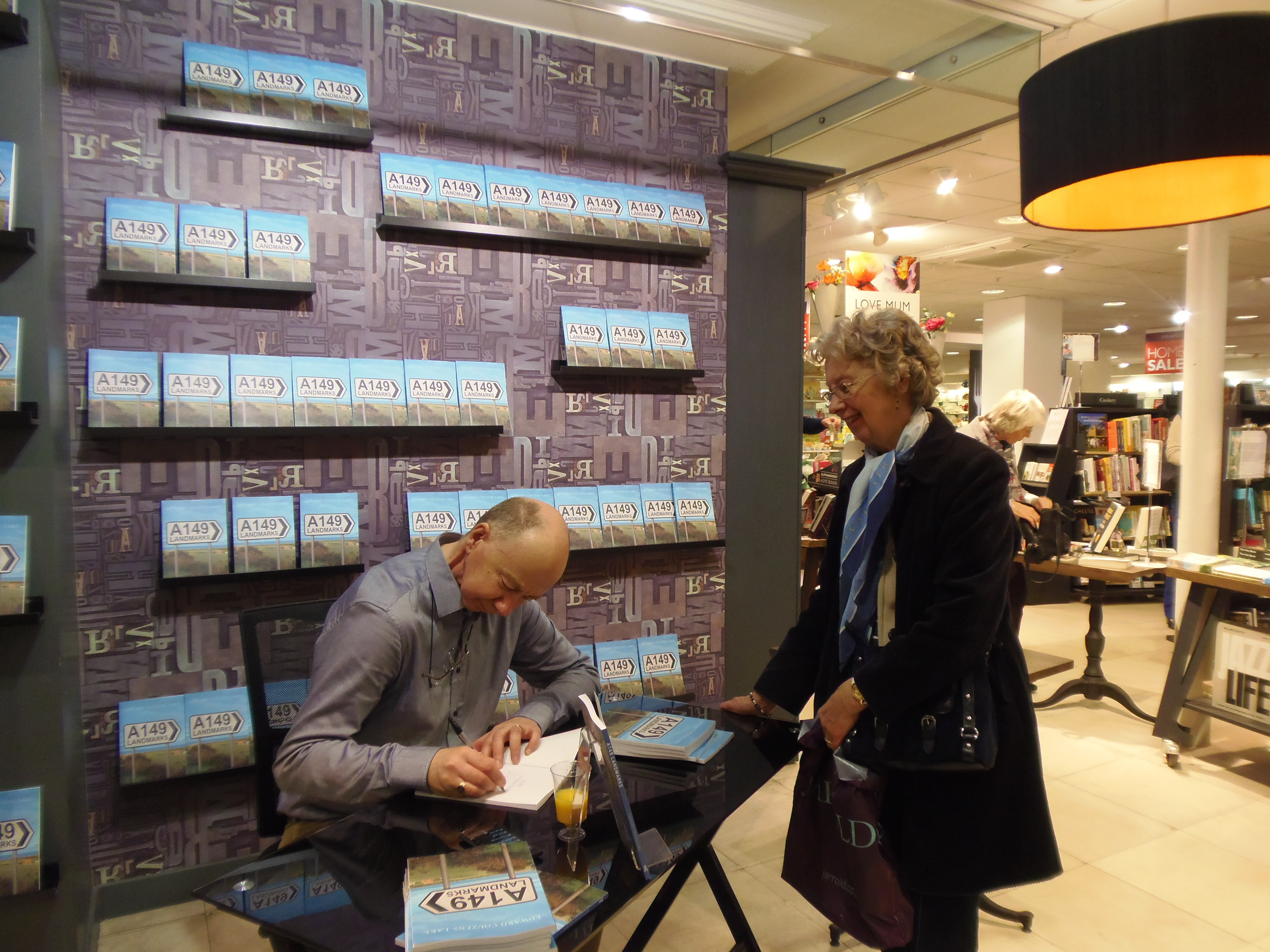A149 book signing